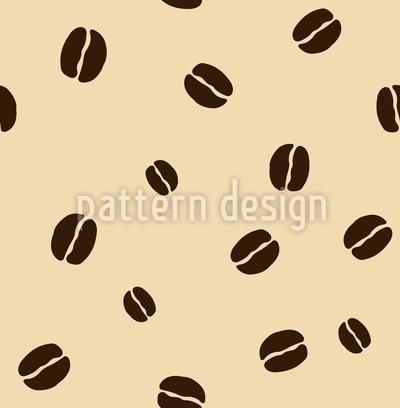 Kaffeebohnen Vektor Muster
