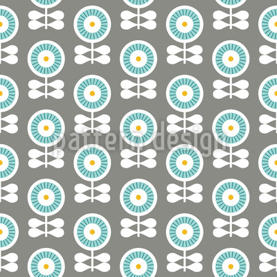 The flowers of Scandinavia Design Pattern