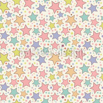 Sternen Zauber Nahtloses Muster