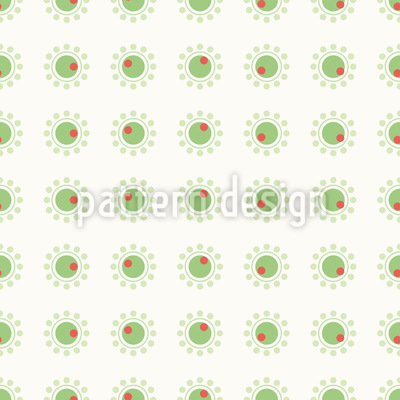 Kleine Oliven Muster Design