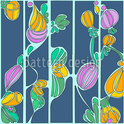 Tiffany Twine Vector Pattern