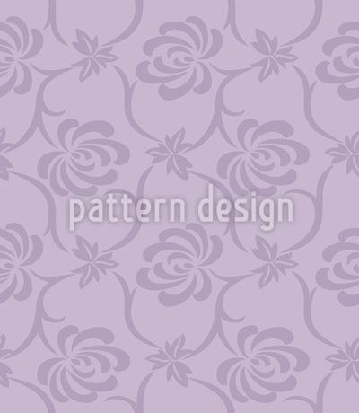 Florale Melancholie Muster Design