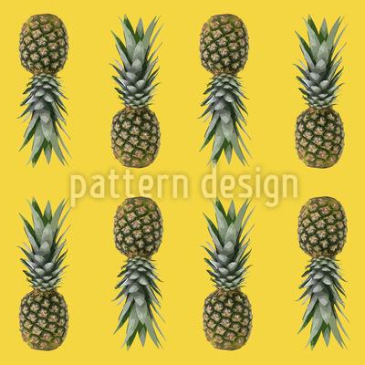 Ananas Aus Brasilien Muster Design