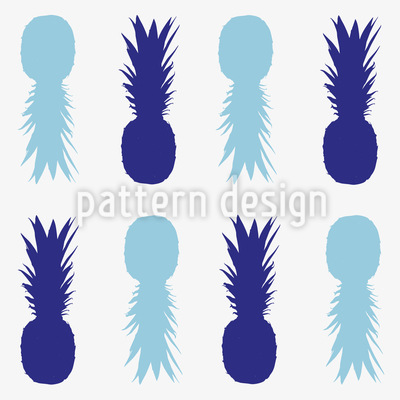 Suspicious Pineapples Repeating Pattern
