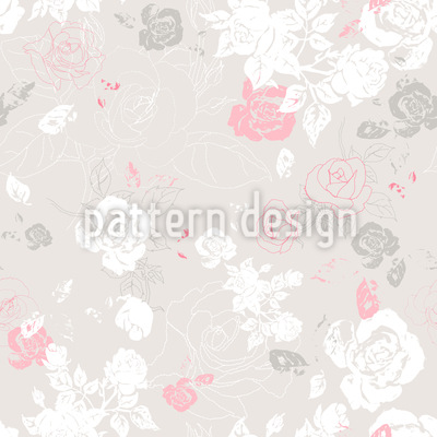 A Touch Of Roses Pattern Design