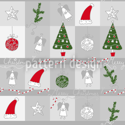Christmas Dream Seamless Vector Pattern Design