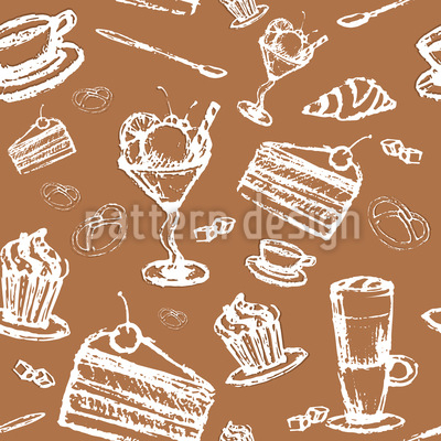 In The Pastry Repeating Pattern