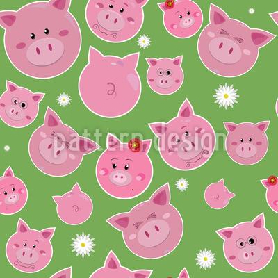 Familie Schwein Im Glück Rapport