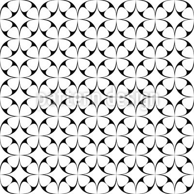 Star Connection Seamless Vector Pattern Design