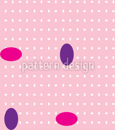 Gemstone Crisscross Seamless Vector Pattern