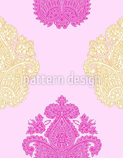 Paisley Brokat Vektor Muster