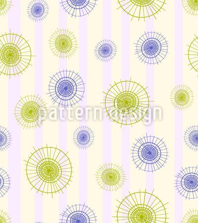 Sonnenschirm Aus Asien Nahtloses Muster
