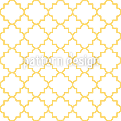 Traditional Quatrefoil Pattern Design