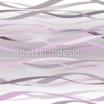 Lavender Waves Seamless Vector Pattern Design