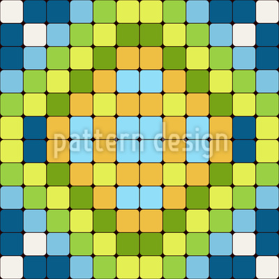 Flag Mosaic Vector Design