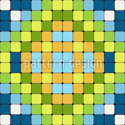 Steinfliesen Mosaik Vektor Design
