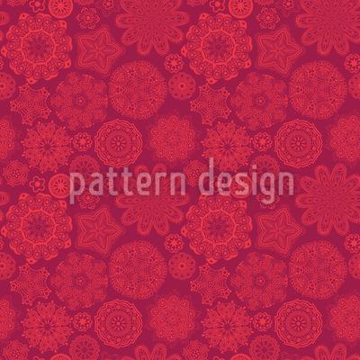 Ornamentale Pracht Rapportiertes Design