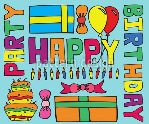 Happy Birthday Party Vector Design