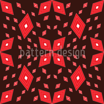 Rauten Matrix Nahtloses Muster