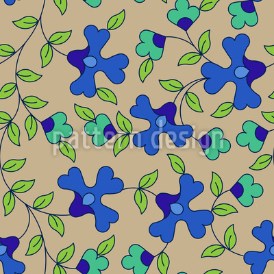 In Blüte Vektor Design