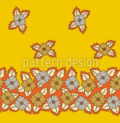 Florales Beet Designmuster