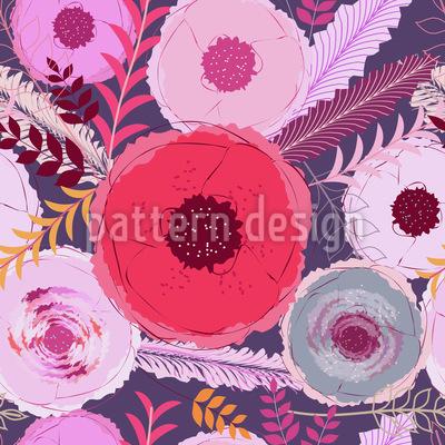 Poppy Dream Pattern Design