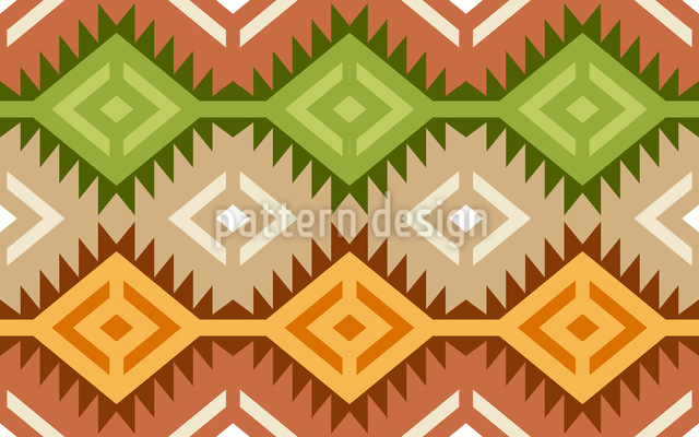 Ottoman Treasure Vector Ornament