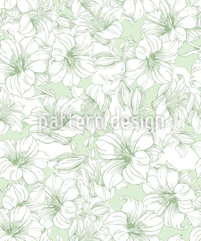 Blühender Hibiskus Vektor Design