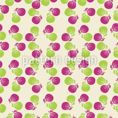 Sommer Früchte Rapportiertes Design
