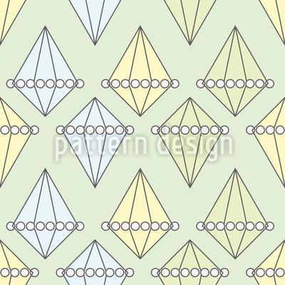 Perlen Und Diamanten Musterdesign