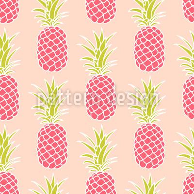 Ananas Sonnenuntergang Vektor Design
