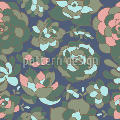 Succulent Repeat Pattern
