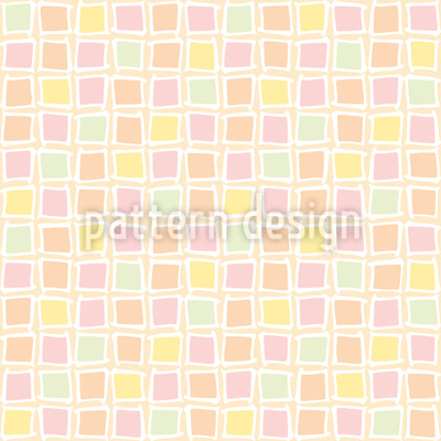 Mosaik Glas Nahtloses Vektormuster