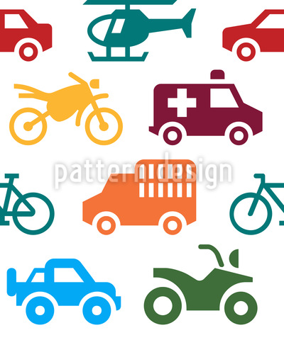 Fahrzeuge Rapportmuster