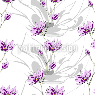 Magnolien Blüten Vektor Design