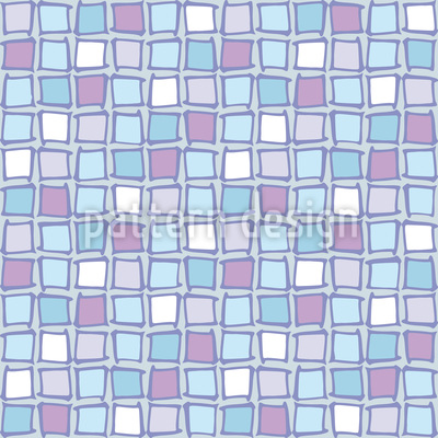 Mosaic Glass Tiles Repeating Pattern