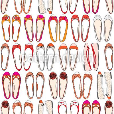 Ballerina Sammlung Vektor Muster