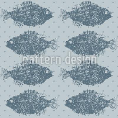 Süßwasserfische Musterdesign