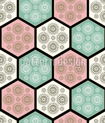 Japanese Tiles Vector Design