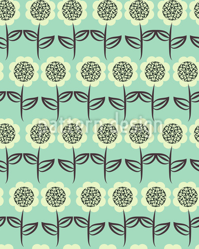 Rows Of Sunflowers Vector Design