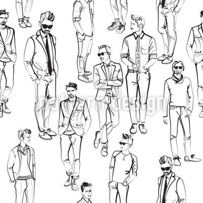 Männer Muster Design