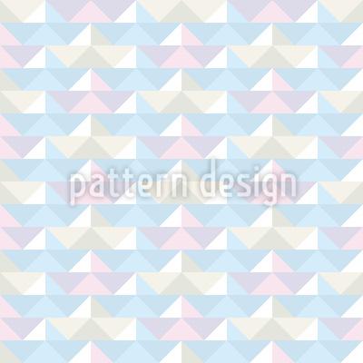 Papierschiffe Regatta Designmuster