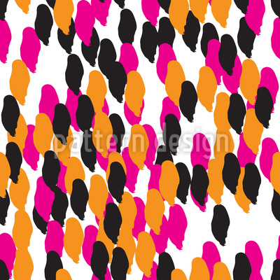 Abstract Spots Pattern Design