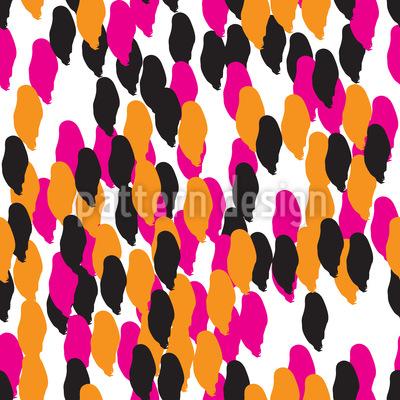 Abstrakte Tupfen Muster Design