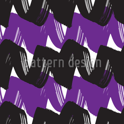 Two-Tone Wave Design Pattern