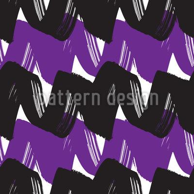 Zweifarbige Welle Designmuster