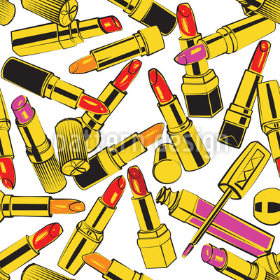 Lipstick Obsession  Vector Design