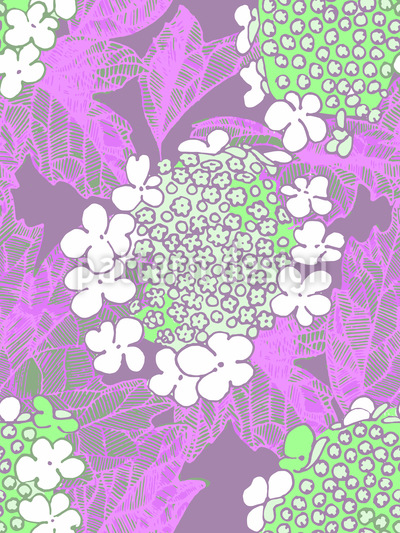 Viburnum Blossom Pattern Design