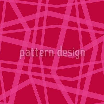 Linien Wirrwarr Rapportiertes Design