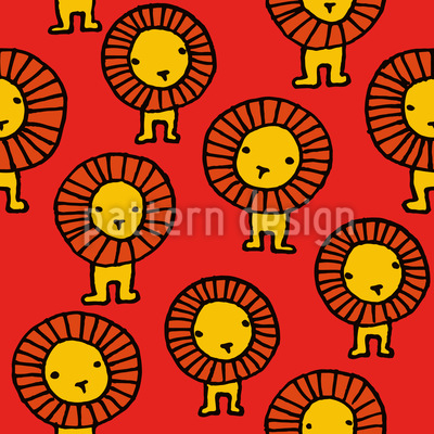 Lions Vector Pattern